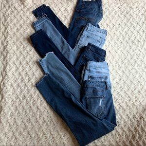 Bundle of size 5 jeans